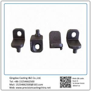 Customized Small Bracket Cast Nodular Iron Investment Casting