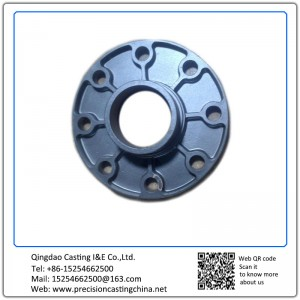 Customized Spherical Cast Iron Lost Foam Casting Process Flanges with Grooves