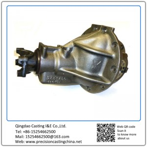 Customized Spherical Cast Iron Third Member Lost Foam Casting Process Gearbox
