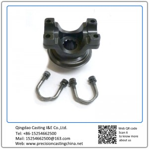 Customized Spherical Cast Iron U-Bolt Pinion Yoke Package Investment Casting
