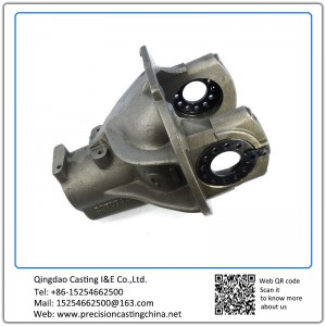 Customized Spherical Graphite Cast Iron Precision Casting Train Parts