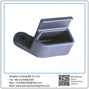 Customized Spherical Graphite Cast Iron Railway Train Casting Parts Waterglass Casting Medical Devices Components
