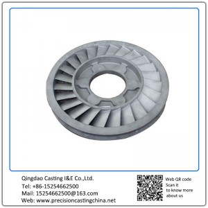Customized Spherical Graphite Cast Iron Stainless Steel Shell Mould Casting Complex Shapes Turbine Blades