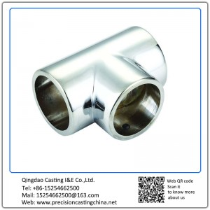 Customized Stainless Steel Tee Joint