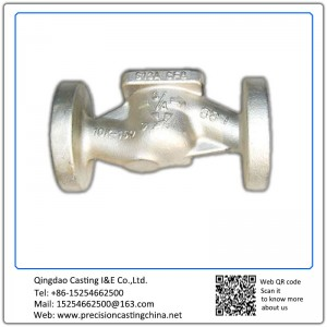 Customized Stainless steel Valve housing lost wax casting process