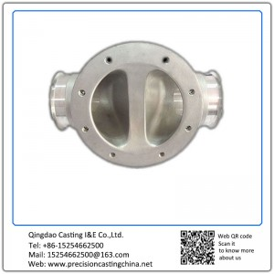 Customized Stainless steel Valve housing with flange investment casting