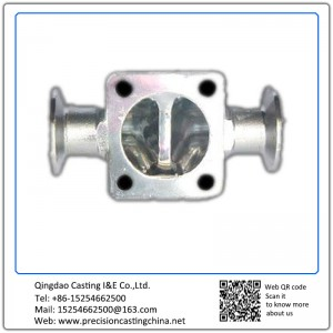 Customized Stainless steel Valve housing with flange precision casting