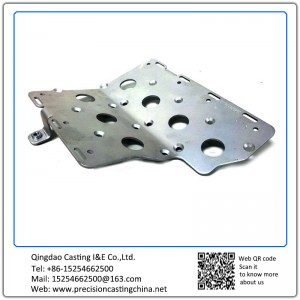 Customized Stamped Stainless Steel Machinery Accessories Punched Parts