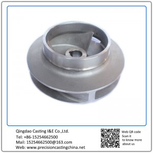 Customized Steel Investment Casting Impeller