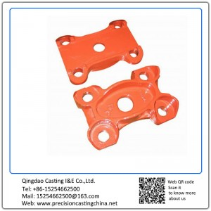 Customized Top Plate for Axle Resin-bonded Sand Casting Carbon Steel