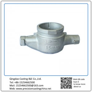 Customized Water Meter Body AISI 304 Stainless Steel Lost Wax Casting Parts Flow Control Meters