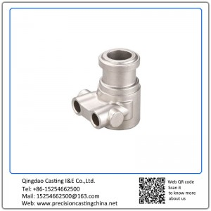 Customized Water Pump Pipe Fittings Shell Mould Casting Alloy Steel Components
