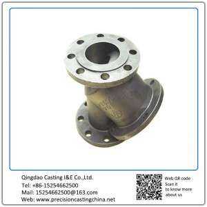 Customized Water Valve Cast Nodular Iron Shell Mould Casting