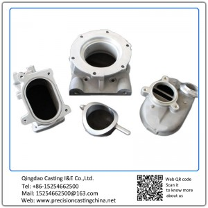 Customized Zinc Plated Carbon Steel Construction Spare Parts Investment Casting