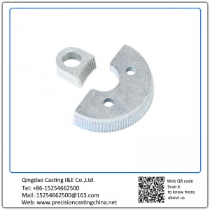 Customized Zinc Plating Agriculture Tractor Spare Part Waterglass Casting Spherical Cast Iron