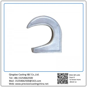 Customized Zinc Plating Alloy Steel Shell Mould Casting Automobile Spare Parts Hooks