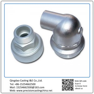 Customized Zinc Plating Threaded Pipe Fittings Waterglass Casting