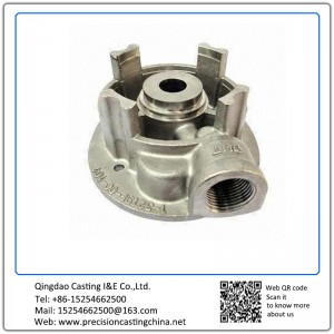 Customized Casting CNC Machining Military High Pressure Fire Pump Made of 316 Stainless Steel