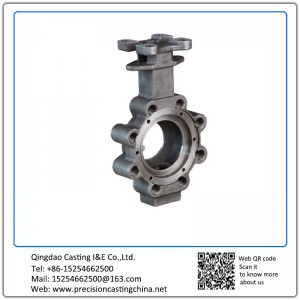 Customized Clay Sand Casting Butterfly Valve Shell with Machining Nodular Iron