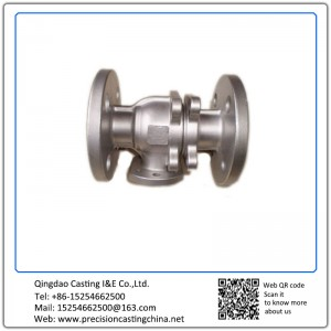 Customized CNC Machined ASTM DIN Standard Pipe Valve Shell with Flange Precision Casting Stainless Steel Grey Iron