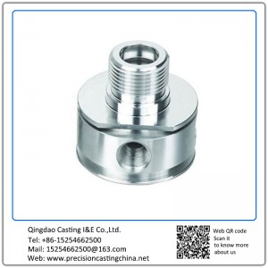 Customized CNC Machined Precision Machined Communication Adapter Aerospace Industries Spare Parts