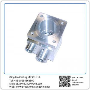 Customized CNC Valve Body Water Pump Spare Parts Components