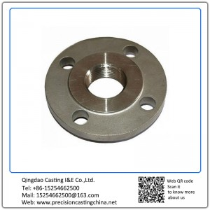 Customized Custom Made Stainless Steel Flanges Shell Mould Casting Concrete Pump Spare Parts