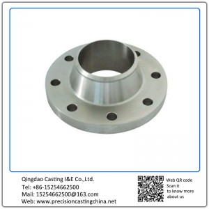 Customized Custom Made Stainless Steel Flanges Silica Sol Lost Wax Investment Casting Construction Spare Parts