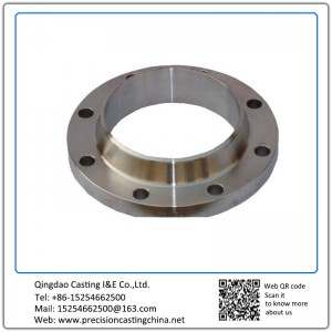 Customized Custom Made Stainless Steel OEM Flange Investment Casting Pipe Fittings Parts