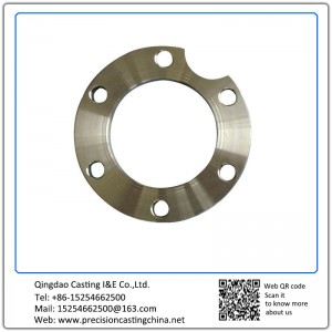 Customized Custom Made Stainless Steel Special Flange Shell Mould Casting Concrete Pump Spare Parts