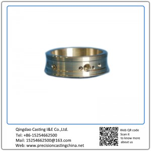 Customized Full Machined Stainless Steel Machinery Bushing Investment Casting