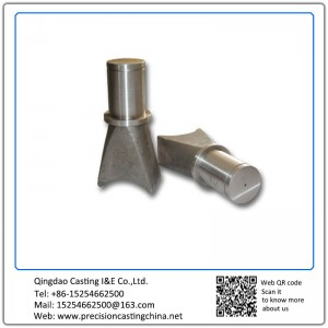 Customized Machined Castings Support Axis Precision Casting Alloy Steel