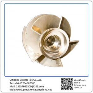Customized Machined Copper Impeller Engineering Machinery Parts