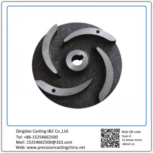 Customized Machined Ductile Iron Casting Parts Impeller