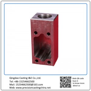 Customized Machined Parts Precision Casting Mild Steel Auto Parts
