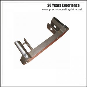 Mild Steel Components of Forklift Clay Sand Casting