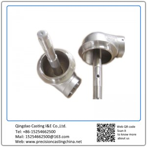 Customized Machined Precision Casting Carbon Steel Crane Spare Parts