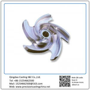 Customized Machined Precision Casting Impeller