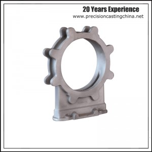 Mild Steel Knife Gate Valve Housing Resin-bonded Sand Casting