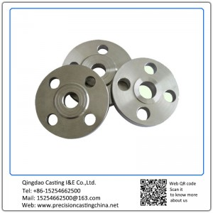 Customized OEM Machined Stainless Steel Flange with Polishing