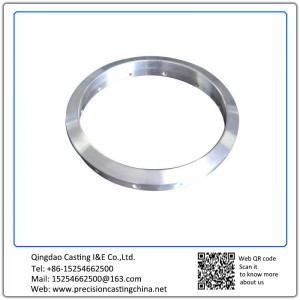 Customized OEM Stainless Steel Full Machining Flange Train Parts