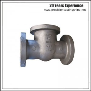 OEM Clay Sand Casting Ball Valve Housing Cast Nodular Iron