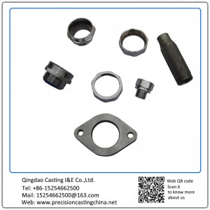 Customized Precision Casting Machined Pipe Fittings Spare Parts Carbon Steel