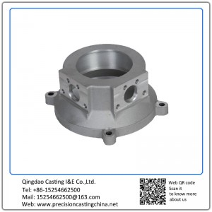 Customized Precision CNC Machining Parts Alloy Steel Investment Casting ISO 9001 Standard