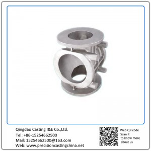 Customized Precision Investment Casting Pump Valve Body by Silica Sol Process Inhouse CNC Machining