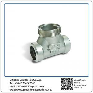 Customized Pressure Vessel Valve Malleable Iron Waterglass Casting