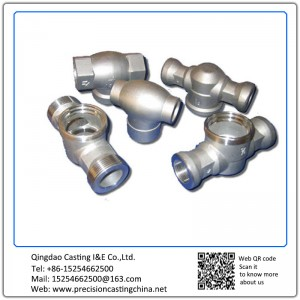 Customized Soluble Glass Casting CNC Machining Components