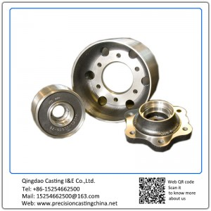 Customized Spherical Graphite Cast Iron Resin Sand Casting Vehicle Parts