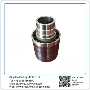 Customized Stainless Steel Connectors Shell Mould Casting with Machining