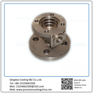 Customized Stainless steel investment casting Machinery connectors
